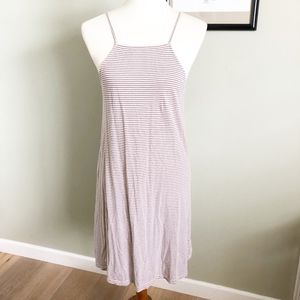 Anthropologie Lilka Spaghetti strap stripe dress M